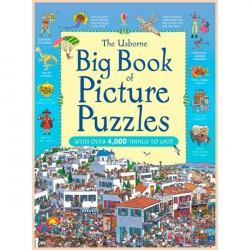 Детская книга Usborne Big Book of Picture Puzzles (Great Searches)