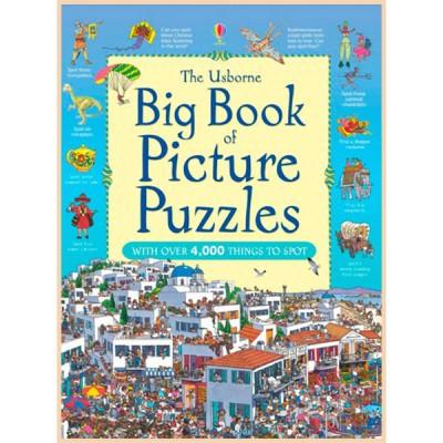Детская книга Usborne Big Book of Picture Puzzles (Great Searches)