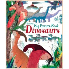 Детская книга Usborne Big Picture Book Dinosaurs