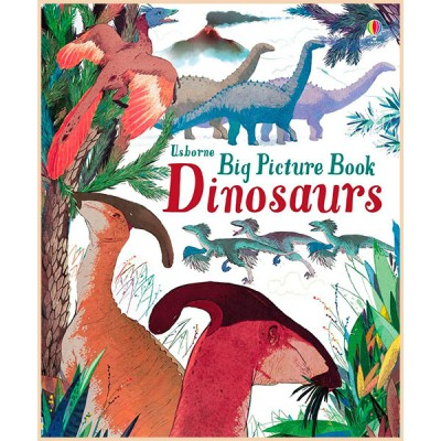 Детская книга Usborne Big Picture Book Dinosaurs