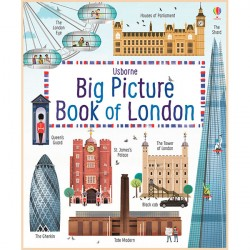 Детская книга Usborne Big Picture Book of London