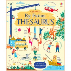 Детская книга Usborne Big Picture Thesaurus