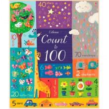 Детская книга Usborne Count to 100 (Big Books)
