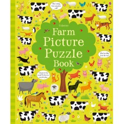 Детская книга Usborne Farm Picture Puzzle Book (Puzzle Books)