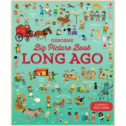 Детская книга Usborne Big Picture Book of Long Ago