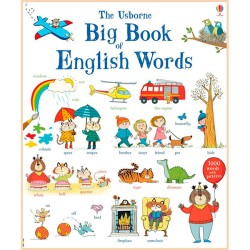 Детская книга Usborne Big Book of English Words