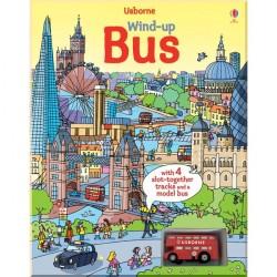 Детская книга-игрушка Usborne Wind-up Bus (Wind-up Books)