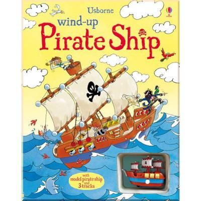 Детская книга-игрушка Usborne Wind-up Pirate Ship (Wind-up Books)