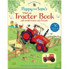 Детская книга-игрушка Poppy and Sam's Wind-up Tractor Book