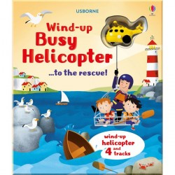 Детская книга-игрушка Wind-up Busy Helicopter ...to the Rescue!