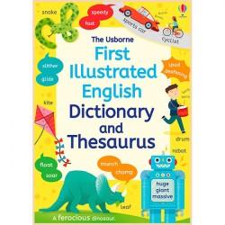 Детский словарь английского языка в картинках Usborne First Illustrated Dictionary and Thesaurus