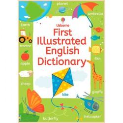 Детский словарь английского языка в картинках Usborne First Illustrated English Dictionary