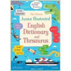 Детский словарь английского языка в картинках Usborne Junior Illustrated English Dictionary and Thesaurus