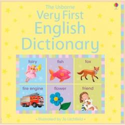 Детский словарь английского языка в картинках The Usborne Very First English Dictionary
