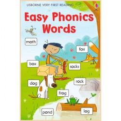 Детская книга Usborne Very First Reading: Easy Phonics Words