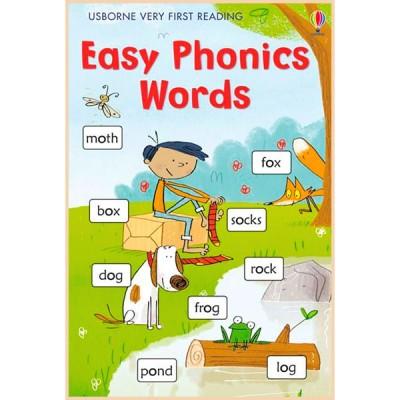 Детская книга Usborne Very First Reading: Easy Phonics Words