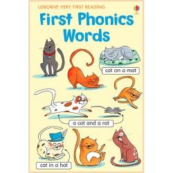 Детская книга Usborne Very First Reading: First Phonics Words