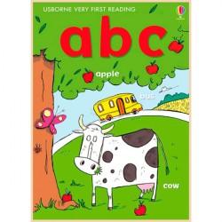 Детская книга Usborne Very First Reading: АВС