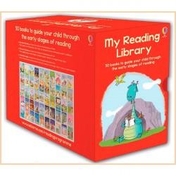 Детская коллекция книг Usborne My Reading Library  (50 Books)