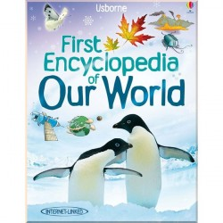 Детская энциклопедия Usborne First Encyclopedia of Our World