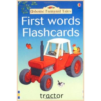 Детские обучающие карточки Usborne Farmyard Tales First Words Flashcards