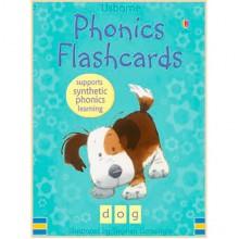 Детские обучающие карточки Usborne Phonics Flashcards (44 cards)