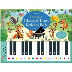 Детская книга со звуковыми эффектами Usborne Famous Classical Tunes Keyboard Book