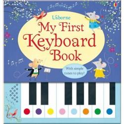 Детская книга со звуковыми эффектами Usborne My First Keyboard Book