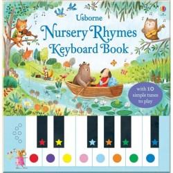 Детская книга со звуковыми эффектами Usborne Nursery Rhymes Keyboard Book