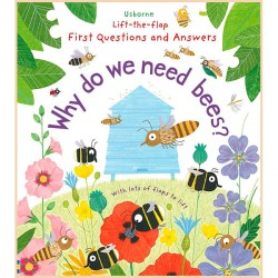 Детская познавательная книга Usborne Lift-the-Flap First Questions and Answers: Why Do We Need Bees?