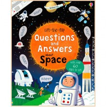 Детская познавательная книга Usborne Lift-the-Flap Questions and Answers About Space