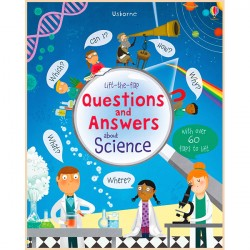 Детская познавательная книга Usborne Lift-the-Flap Questions and Answers about Science