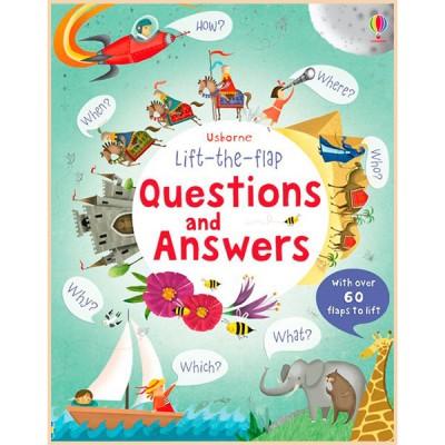 Детская познавательная книга Usborne Lift-the-Flap Questions and Answers