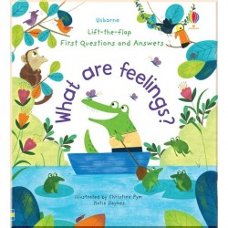 Детская познавательная книга Usborne Lift-the-Flap First Questions and Answers What Are Feelings?
