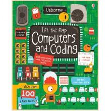 Детская познавательная книга Usborne Lift-the-Flap Computers and Coding (с вкладышами)