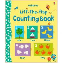 Детская познавательная книга Usborne Lift the Flap Counting Book