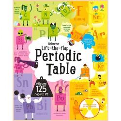Детская обучающая книга Usborne Lift-the-flap Periodic Table (с вкладышами)