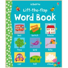 Детская книга Usborne Lift-the-Flap Word Book