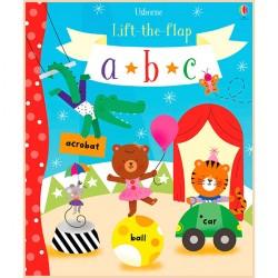 Детская обучающая книга Usborne Lift the Flap ABC (с окошками)