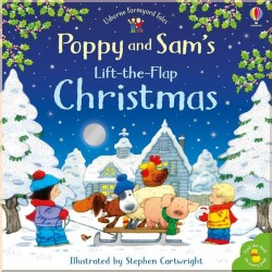 Детская книга с окошками Usbone Poppy and Sam's Lift-the-Flap Christmas