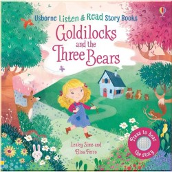 Детская звуковая книга Usborne Goldilocks and the Three Bears (Listen and Read)