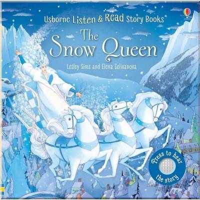 Детская звуковая книга Usborne The Snow Queen (Listen and Read)