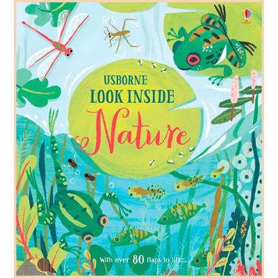 Детская познавательная книга Usborne Look Inside Nature