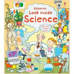 Детская познавательная книга Usborne Look Inside Science