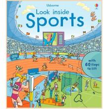 Детская познавательная книга Usborne Look Inside Sports
