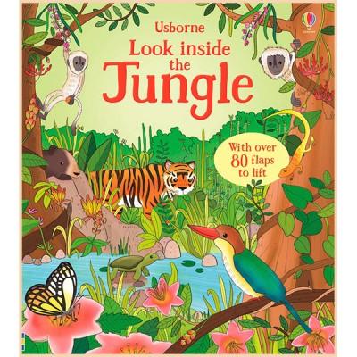 Детская познавательная книга Usborne Look Inside the Jungle