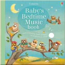 Детская книга со звуковыми эффектами Usborne Baby's Bedtime Music Book