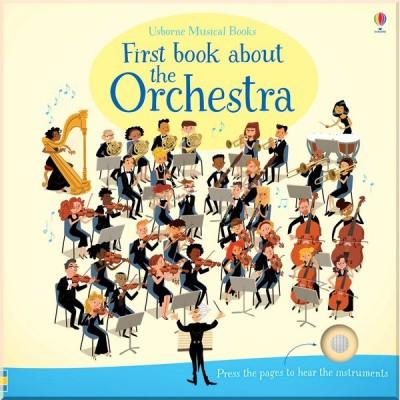 Детская книга со звуковыми эффектами Usborne First Book about the Orchestra