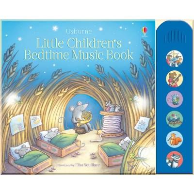 Детская книга со звуковыми эффектами Usborne Little Children's Bedtime Music Book