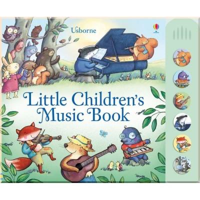 Детская книга со звуковыми эффектами Usborne Little Children's Music Book with Musical Sounds